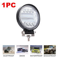 1x Car Truck 72W 12V 24V Round LED Work Spot Light Flood Driving Bright Bulb SUV