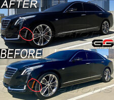 CLEAR FRONT Side Markers Reflectors For All 2016 2017 2018 2019 Cadillac CT6