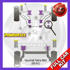 Opel Astra MK2 - Kadett E (85-91) Powerflex Complete Bush Kit