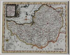 Original 18th Century Map of Somerset by Thomas Bowen, ready to frame