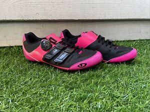 Giro Women's Raes Techlace BOA Cycling Shoe Size EU39/US W 7.5 MSRP $250