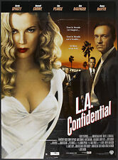 L.A. CONFIDENTIAL original 1997 LARGE movie poster RUSSELL CROWE/KIM BASINGER