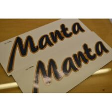 BAILEY Discovery Manta (1995) Caravan Name Stickers Decals Graphics - PAIR
