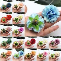 Wholesale 100PCS/Lot 6cm Rose Peony Artificial Silk Flower Head DIY Floral Craft