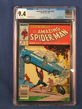 MARVEL COMICS CGC 9.4 THE AMAZING SPIDER MAN 306 10/88 WHITE PAGES