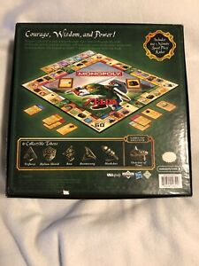The Legend of Zelda Monopoly Collector's Edition Board Game. NEW SEALED