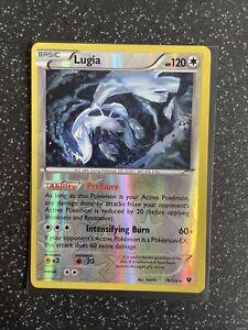 Pokemon Card Lugia 78/124 Reverse Holo Fates Collide
