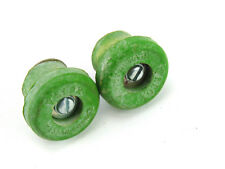 Velox bar end plugs Rubber screw type *1 set GREEN Vintage Road Bike NOS
