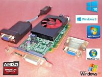 Windows 10 HP Slimline 410-010 SFF 1GB Dual VGA Video Graphics Card