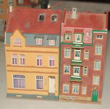 Spur H0 zwei Altstadthäuser ca 15 cm hoch