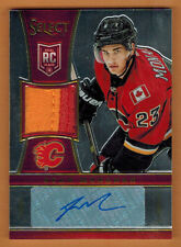 2013-14 , PANINI , SELECT , SEAN MONAHAN ,  AUTO , PATCH , ROOKIE , /50