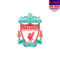 Liverpool Sports Fc Pl Soccer 4 Stickers 4x4 Inch Sticker Decal