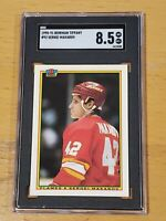 1990 Bowman Tiffany #92 SGC 8.5 Sergei Makarov RC Rookie Low Pop