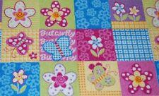 Tapis de jeu tapis pour enfants papillon 200X180 cm beige