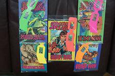 Neal Adams Lot of 5 Wendy's 1995 3-D Color Classics Comics New Sealed w/glasses