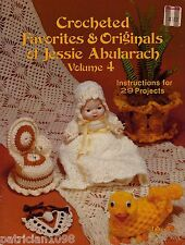 29 Crochet Patterns Jessie Abularach Favorites Original #4 Snowflake Flower VTNS