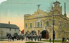 Ohio, OH, Lorain, No 7 Fire Department Early Postcard