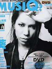 MUSIQ? Vol.13 the Gazette AOI Magazine with DVD JAPAN INORA Tourbillon 12012