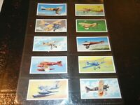 1961 Lyons Tea  WINGS OF SPEED  airplane Trade set 24 cards like tobacco lot