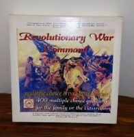 Revolutionary War Command Trivia Based Wargame Tomahawk Games Complete
