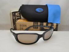 6474991269 Costa Del Mar BRINE (BR 11 OSCGLP) Matte Black with Copper Silver Mirror  Lens
