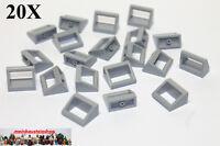 LEGO  CLASSIC   22 FLIESEN 2431 medium stone grey 1x4   NEU 4211356 hellgrau