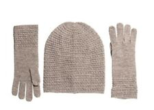 NWT Aspen Baby Cable Hat Glove Set Merino Wool and Cashmere