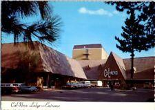 1960's Cal Neva Lodge Hotel Casino Lake Tahoe Postcard Vintage Frank Sinatra E m