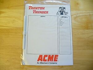 MILB - Eastern League - Trenton Thunder Refrigerator Memo Magnet - SGA - NIP