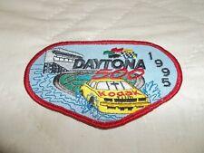 1995 Daytona 500 Emblem Patch Sterling Marlin Kodak Morgan-McClure Motorsports