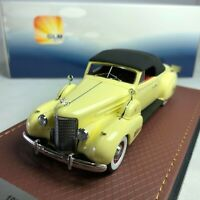 1/43 GLM 1938 Cadillac V16 Convertible Coupe Close roof GLM43101602