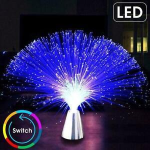 LED Fiber Optic Light Night Light Holiday Christmas Tool Home Wedding K1E5