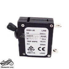 15 AMP 15A Generator Circuit Breaker 18.8 Trip Amps 230V Icn 2000A 50/60 HERTZ