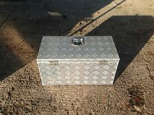 Very Large Aluminium Chequer plate Storage/Tool Box Lockable lid trucks,trailers