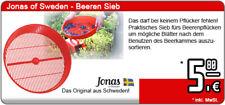 Jonas of Sweden Blaubeerkamm - Beerenpflücker-Sieb