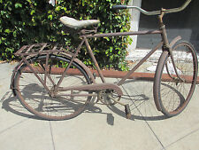 1940s SCHWINN BICYCLE VERY EARLY APPEARS TO BE COMPLETE & ORIGINAL