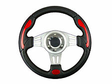 RED V1 SPORTS STEERING WHEEL 330mm 6x70mm PCD will fit Momo OMP Sparco boss kit