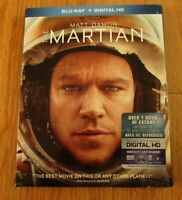 BLU-Ray + Digital HD Matt Damon The Martian Preowned