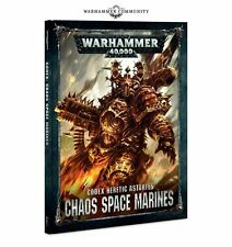 Warhammer 40k - Chaos Space Marines Codex Heretic Astartes - Brand New 8Th