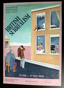 CONROY MADDOX British surrealism     2020 ART EXHIBITION POSTER