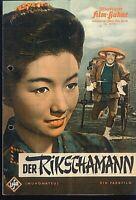 """IFB Illustrierte Film Bühne Nr. 05190 """" Der RIKSCHAMANN """""""