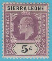 SIERRA LEONE 84  MINT HINGED OG * NO FAULTS EXTRA FINE !
