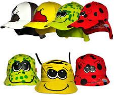 Chapeaux multicolores pour garçon de 2 à 16 ans en 100% coton