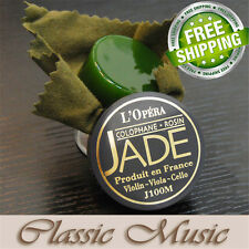 Free shipping ! Jade L'Opera Rosin For Violin ,Viola,Cello,J100M ,Made in France