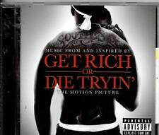 CD ALBUM BOF/OST 16 TITRES--GET RICH OR DIE TRYING'--50 CENT/LLOYD BANKS