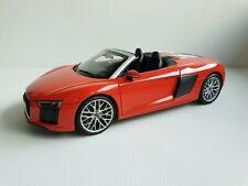 Audi R8 Spyder V10 Dynamitrot Rot - 5011618552 1/18 Iscale