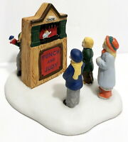 Lemax Dickensvale Christmas Punch and Judy Figurine 1996