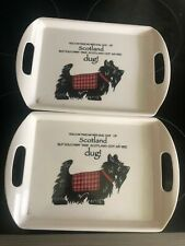 2 Cheeky we dugs serving trays