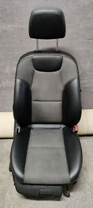 MERCEDES BENZ C CLASS W204 DRIVER RIGHT SIDE FRONT HALF LEATHER SEAT NECK PRO