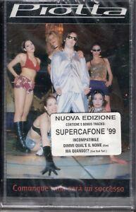 MUSICASSETTA PIOTTA SUPERCAFONE 1999   MUSICAL CASSETTE NEW SEALED